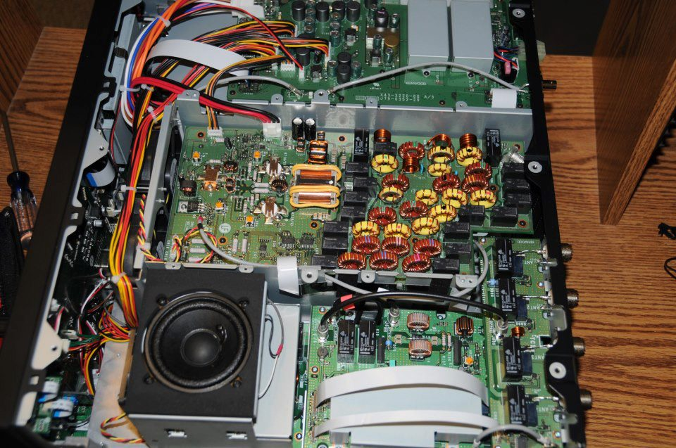 Kenwood TS-990s – inside pictures