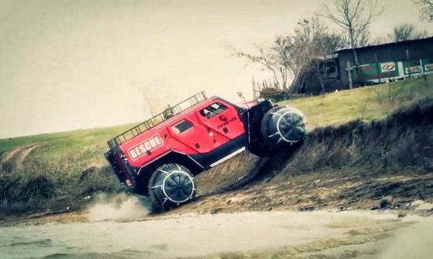 Ghe-O Rescue – offroad monster for emergency situations