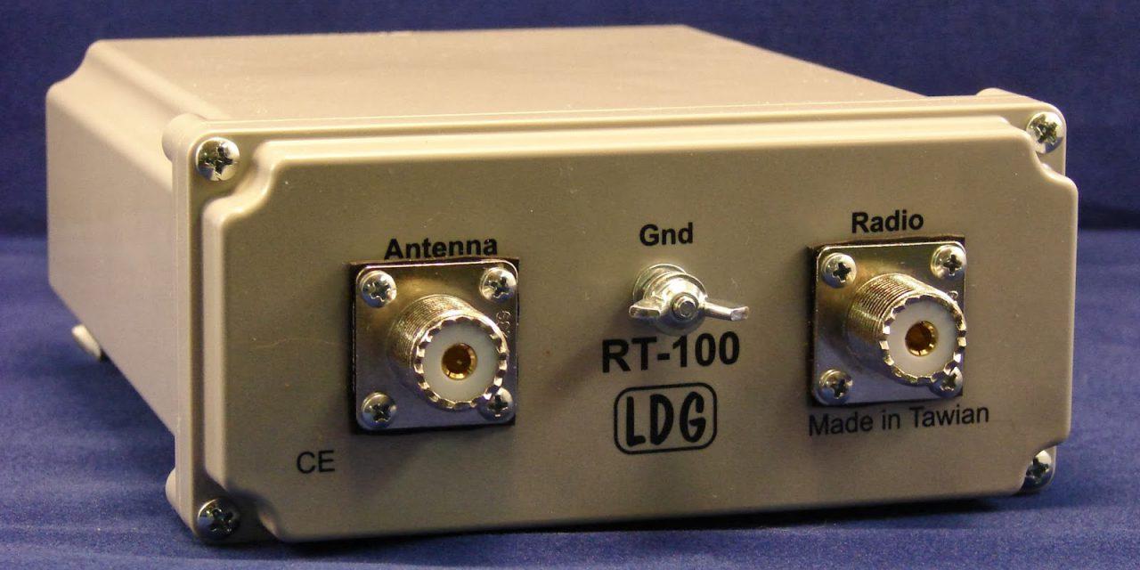 LDG RT-100 – new 100W remote tuner