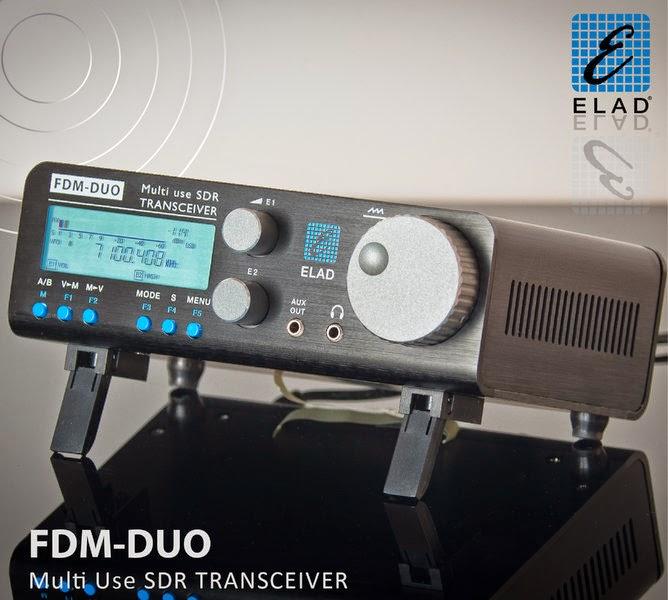 Elad FDM-DUO standalone SDR HF+6m transceiver