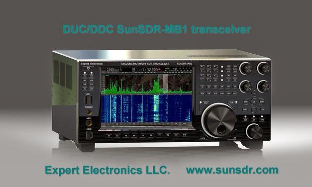 SunSDR-MB1 – finally a proper modern transceiver