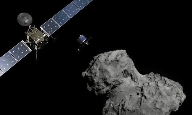 About the Rosetta comet landing mission