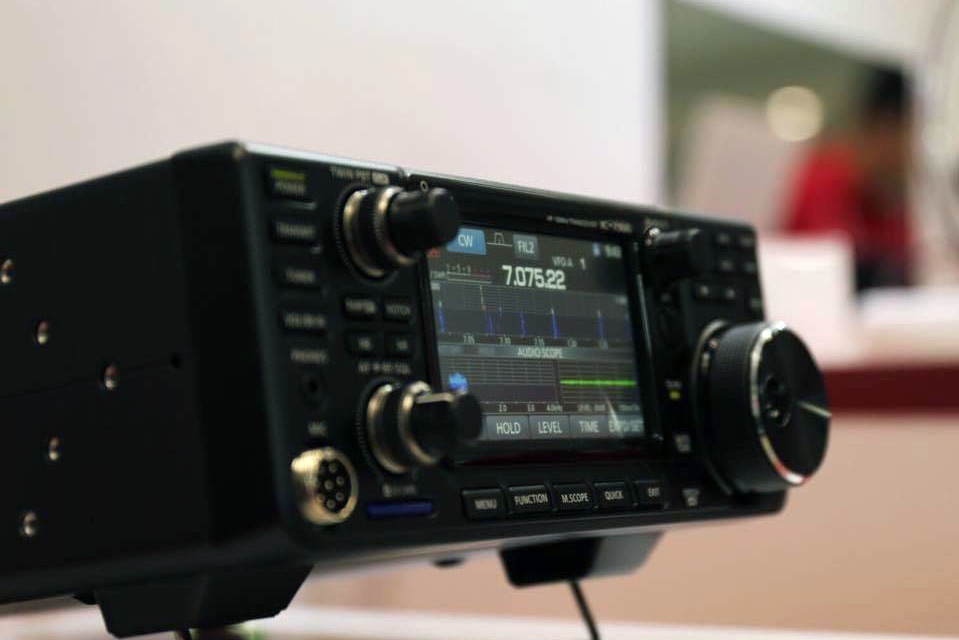 Icom IC-7300 available in January, official price announced
