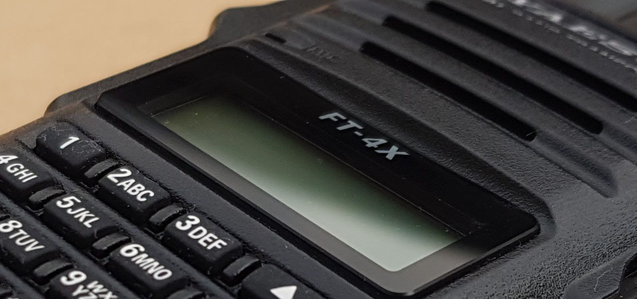 Yaesu FT-4X review (it is after all a Baofeng)