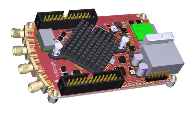 Red Pitaya STEMlab 122.88-16   for SDR transceivers